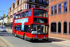 Ex GO Ahead in Norwich (Chris Baines) Tags: ex go ahead london plaxton president pj53 nko norwich