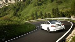 BMW M4 (Matze H.) Tags: bmw m4 gt sport gran turismo drift street mountains germany wallpaper scapes screenshot render