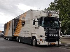 Scania R500 - Dijkstra Plastics (NL) (T.I.R. - Spotting) Tags: scania r 500 nl netherlands holland v8 truck tuning styling trucking lkw spotting dijkstra plastics jumbo liner transport parking lorry
