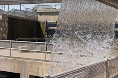 Industrial Waterfall (vincentinfante) Tags: water waterfall concrete artifical manmade fast shutter freeze motion