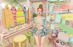 Sweet Summer (Gabriella Marshdevil ~ Trying to catch up!) Tags: sl secondlife cute kawaii doll sintiklia lagom mudskin teefy catwa summer