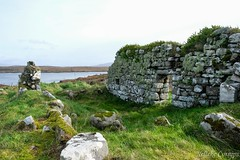 Abandoned house on Inis Ni (Nelleke C) Tags: 2017 inisni letterdyfehouse roundstone abandoned connemara countygalway eiland holiday house huis ierland ireland island vakantie