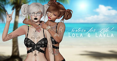 #Lola and layla 2 (Hayyz Heavenly Photography) Tags: family accessories artist art awesome abstract affordable animations poses photo profile photoshop photography portrait posing pose pro poser perfection personal portfolio pictures power posers powerful paparazzi party pool picture secondlife secondlifeblogger style secondlfe sexy scene sharing selfie seeing secondlifelocation happy headshots