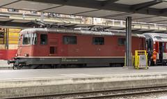 SBB Re420 11154 (Re 4/4 II) (l4ts) Tags: europe switzerland basel baselsbb railwaystation re420 11154 electrictrain sbb re44ii