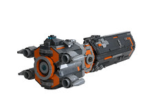Galactic Cruiser (lisqr) Tags: lego moc spaceship scifi