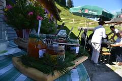 Honig auf der Alpe Steris (Katholische Kirche Vorarlberg) Tags: alp pause essen alpe alm honey honig jause