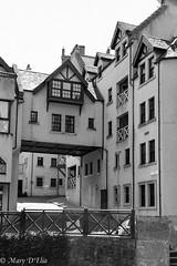 DeanVillageBWlo-0048 (Mary D'Elia) Tags: deanvillage edinburgh milltown scotland uk waterofleith travel