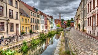 Gasse in Wismar