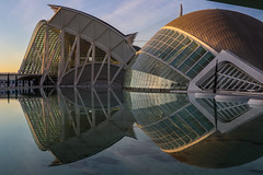 City of Arts and Science (A Costigan) Tags: canon 80d canoneos canon80d valencia spain cityofartsandscience hemesferic reflections glass museum imax