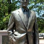 Houston - Downtown: Sesquicentennial Park - George H.W. Bush Monument thumbnail