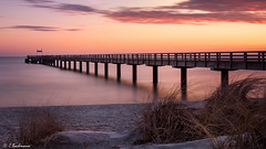 Seebrücke Schönberger Strand II (Germany) (bachmann_chr) Tags: seebrücke strand küste ostsee schleswigholstein coast sonnenaufgang beach sunrise deutschland germany sightseeing nikon d750