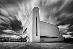 Between Kingdoms (Carla Mountain Spirit) Tags: contemporary concept architecture church portugal bnw monochrome design samyang carlafreire