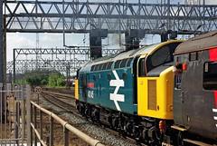 40145, Crewe, June 2009 (David Rostance) Tags: eastlancscrusader 40145 class40 englishelectric crewe