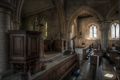 Wadenhoe Church Interior 4 (Darwinsgift) Tags: wadenhoe church interior hdr 19mm f4 pc e tilt shift nikkor nikon d850 photomatix