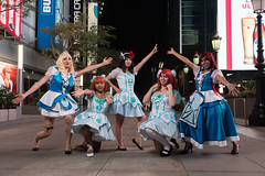 Haruhi Dance (asiantango) Tags: animeconvention animeexpo california celebrationevent centralcity cosplayseries item jwhotel lalive losangelescounty losangeleslive lovelive night nightphotography object out outdoor outdoors outside outsides time funny