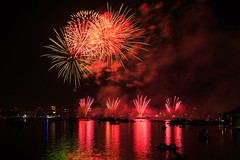 Boston, 4th July, 2018 (chris_brearley) Tags: 2018 4july 4thjuly backbay boats boston celebration charlesriver citgo fenway fireworks independenceday july4 july4th kayaks landscape night river travel travelphotography