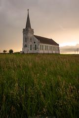 Holy Light (Erik Johnson Photography) Tags: abandoned church storm lightning sky prairie nebraska grass midwest sunset golden hour national geographic