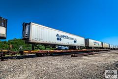 FEC Long Runner at Quenemo, KS (Mo-Pump) Tags: train railroad railfan railroader railway railroading railroads locomotive
