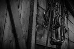 The Saw (stujfoster) Tags: farm shed urbex gritty urban uk england