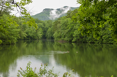 Pinnacle Lake II (rschnaible (On Holiday)) Tags: table rock state park south carolina outdoor the mountains landscape pinnacle lake water mountain forest woods