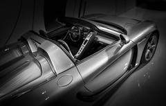 GT (Dave GRR) Tags: carrera gt carreragt porsche supercar hypercar sportscar luxury toronto auto show 2018 monochrome mono bw olympus