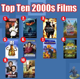 Top Ten 2000s Films