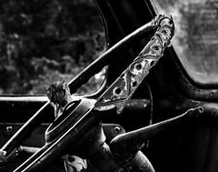 024693763512-102-Take the Wheel-Black and White (Jim There's things half in shadow and in light) Tags: america canon5dmarkiv eldoradocanyon lensball mojavedesert nelson nevada places southwest tamronsp90mmf28dimacro11vcusd usa desert nearlasvegas truck wheel blackandwhite