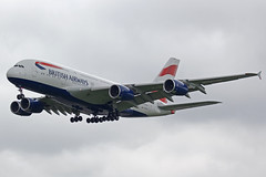 British Airways Airbus A380-841 G-XLEG (Paul's Aircraft and Transport Images) Tags: british airways airbus a380 841 london heathrow lhr myrtle avenue
