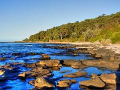 On the islandOn the island VIII (elphweb) Tags: hdr highdynamicrange nsw australia seaside sea ocean water beach sand sandy brouleeisland island wave waves rock rocks rockformation