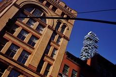 Tribeca - Jenga Tower 5 (luco*) Tags: usa united states america étatsunis damérique new york city nyc manhattan tribeca jenga tower building gratteciel 35 leonard street