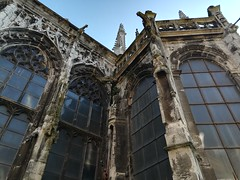 Beautiful old churches in Rouen