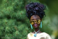 golden girl (photos4dreams) Tags: barbie mattel doll toy diorama photos4dreams p4d photos4dreamz barbies girl play fashion fashionistas outfit kleider mode puppenstube tabletopphotography aa beauties beautiful girls women ladies damen weiblich female funky afroamerican afro schnitt hair haare afrolook darkskin africanamerican canoneos5dmark3 billyjean