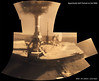 Opportunity's First Full Selfie (Lights In The Dark) Tags: mars rover opportunity nasa surface planet color
