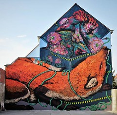 Brand new #mural. Big thanks #Bastardilla & #ericailcane for @miramiro.festival . #Gent #Belgium #streetart #graffiti #urbanart #streetartcities #streetartgent #graffitiart #streetartbelgium #graffitibelgium #visitgent #urbanart_daily #graffitiart_daily # (Ferdinand 'Ferre' Feys) Tags: instagram gent ghent gand belgium belgique belgië streetart artdelarue graffitiart graffiti graff urbanart urbanarte arteurbano ferdinandfeys