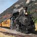 481 Departing Home Ranch (jterry618) Tags: durangosilvertonnarrowgaugerailroad durango colorado steamlocomotive railroad train engine car steam