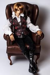 New wig☆ (*Ryuugan*) Tags: iplehouse giorgio bjd doll abjd monique wig