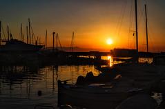Chania, Crete (Kevin R Thornton) Tags: d90 crete sunset travel nikon chania mediterranean greece boat landscape harbour transport creteregion gr