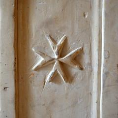 Maltese Cross [Rabat - 29 April 2018] (Doc. Ing.) Tags: 2018 malta rabat mdina square cross maltesecross engraving