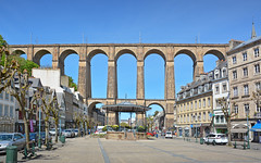 10MorlaixViaductFromTownHall (geomappingunit) Tags: brittany 2018 fieldtrip geography viaduct morlaix bandstand