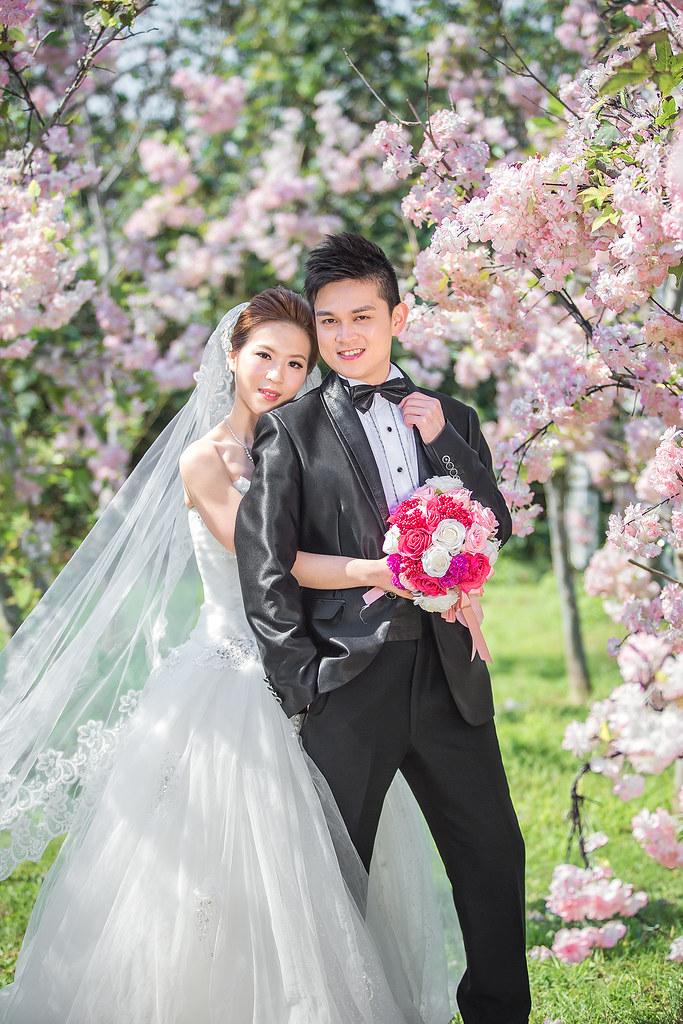 026婚紗攝影-婚紗照-淡水莊園-櫻花