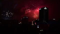 Fireworks in Minsk (free3yourmind) Tags: fireworks video minsk nemiga double tree hotel belarus 3july night center