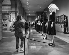 Runway (John St John Photography) Tags: metropolitanmuseumofart fifthavenue newyorkcity newyork heavenlybodiesfashionandthecatholicimagination streetphotography candidphotography art hautecouture mannequins woman bw blackandwhite blackwhite blackwhitephotos johnstjohn