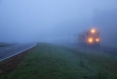 Ghost Riders (BravoDelta1999) Tags: pickens pick railroad csxt csx transportation railway anderson gluck industrial park southcarolina ge u18b 9500 9507 manifest train