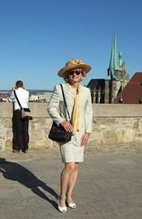 Lady with hat (Marie-Christine.TV) Tags: feminine transvestite lady mariechristine tgirl tgurl dame ascot hut hat skirtsuit kostüm sekretärin secretary grande grandedame