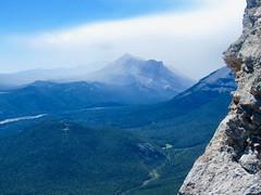 365-4-188 Nihahi Ridge Scramble - Three Point Mountain getting some moisture (benlarhome) Tags: alberta canada kananaskis nahahi trail trek hike scramble