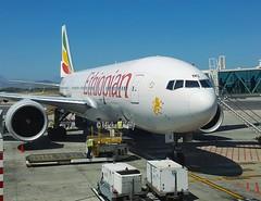 Ethiopian Airlines                                              Boeing 777-200LR                                     ET-ANO (Flame1958) Tags: ethiopian ethiopianb777 myflightaircraft etano et847 addisababa 221017 1017 2017 ethiopia samsung s6 135721