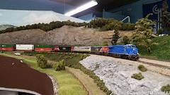 GECX 2032 GE ET44AC (HO Scale) (Trucks, Buses, & Trains by granitefan713) Tags: modeltrain ho hoscale hmrrc hudsonmodelrailroadclub layout scaletrains gecx ge generalelectric geet44ac et44ac