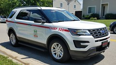 Chief 320 (Central Ohio Emergency Response) Tags: liberty township delaware county ohio powell fire department truck ford suv chief
