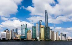 (seua_yai) Tags: asia china prc shanghai pudong archtecture buildings urban skyline skyscraper tower chinashanghai2018