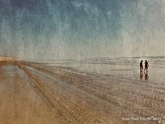 En marée (JEAN PAUL TALIMI) Tags: jeanpaultalimi talimi littoral texture aquitaine landes lumieres lignes solitude dune deux biscarrosse beach mer france plage sable sudouest bleue